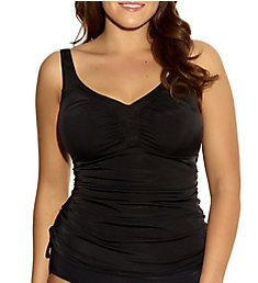 Elomi Essentials Ruched Wire Free Tankini Swim Top ES7603