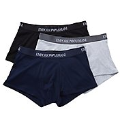Emporio Armani Essentials Genuine 100% Cotton Trunk - 3 Pack 610CC722