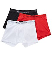 Emporio Armani Essentials 100% Cotton Boxer Briefs - 3 Pack 611CC722