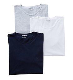 Emporio Armani Essentials Genuine 100% Cotton Crew Neck - 3 Pack 821CC722