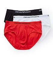 Emporio Armani Essentials 100% Cotton Briefs - 3 Pack 824CC722