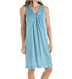 Exquisite Form Coloratura Sleeveless Short Nightgown 30107