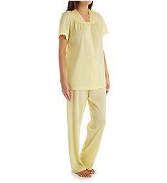 Exquisite Form Coloratura Vintage Short Sleeve Pajama Set 90107