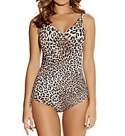 Fantasie Caya Underwire V-Neck Swimsuit with Adjustable Leg FS6045