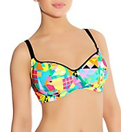 Freya Tribal Trax Underwire Sweetheart Bikini Swim Top AS3791