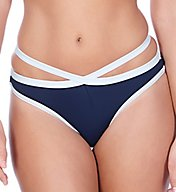 Freya In the Navy Italini Swim Bottom AS3862