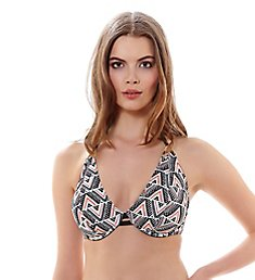 Freya Sphinx Underwire Bandless Halter Bikini Swim Top AS3911