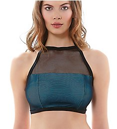 Freya Electra Underwire High Neck Crop Swim Top AS3918