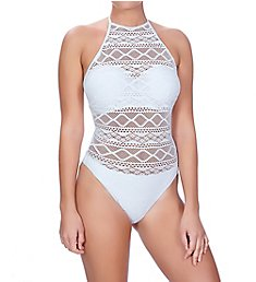 Freya Sundance Underwire High Neck Cutout Swimsuit AS3974