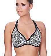 Freya Frenzy Underwire Convertible Halter Swim Top AS4010