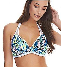 Freya Evolve Underwire Banded Halter Bikini Swim Top AS4427