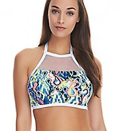 Freya Evolve Underwire High Neck Crop Swim Top AS4428