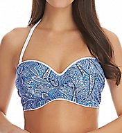 Freya Summer Tide Underwire Twist Front Bandeau Swim Top AS4470