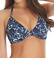 Freya Storm Underwire Bandless Halter Bikini Swim Top AS4479