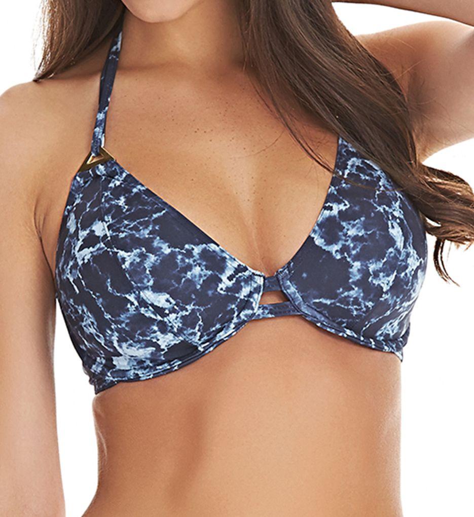 Freya Storm Underwire Bandless Halter Bikini Swim Top AS4479