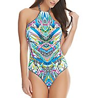 Freya Tropicool Underwire High Neck One Piece Swimsuit AS4513
