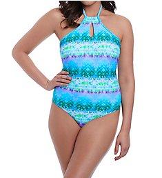 Freya Seascape High Neck One Piece Swimsuit AS5874