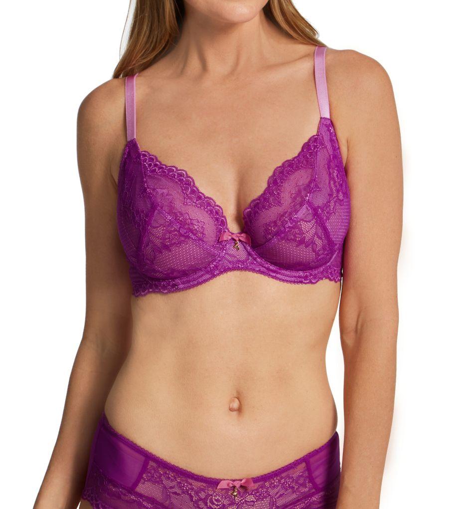 Gossard Lace Non-Padded Plunge Bra 7725