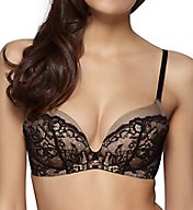 Gossard Glamour Lace Wireless Plunge Bra with Uplift 8821