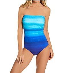 Gottex Twilight Bandeau One Piece Swimsuit TW070