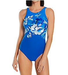 Gottex Waterspring High Neck Tank One Piece Swimsuit WS180