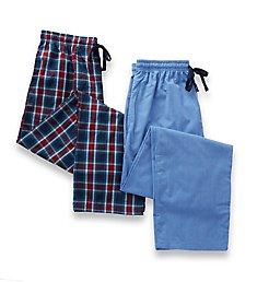 Hanes Big Man Woven Plaid Pants - 2 Pack 4025BA