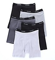 Hanes Premium Cotton Stretch Boxer Briefs - 5 Pack 76925P