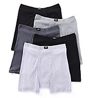 Hanes Comfortsoft Cotton Boxer Briefs - 5 Pack 769CP5