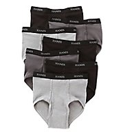 Hanes Premium Cotton Full-Cut Briefs - 7 Pack 7764B7