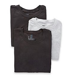 Hanes Premium Cotton Assort Crew Neck T-Shirts - 3 Pack 7873BG