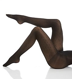Hanes Fashion Diamond Dot Tights HFT017
