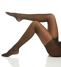 Hanes Fashion Sheer Dot Control Top Tights HFT030