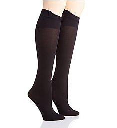 Hanes Curves Opaque ComfortFlex Band Plus Socks - 2 Pair HSP021