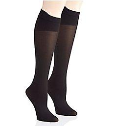 Hanes Perfect Socks Opaque Comfort Flex Band - 2 Pack HST012