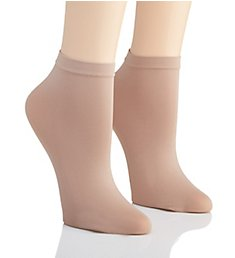 Hanes Perfect Socks Opaque Anklet - 2 Pack HST014