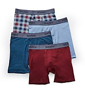 Hanes Stretch Assorted Boxer Briefs - 4 Pack U9BBA4