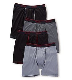 Hanes Ultimate Sport Mesh Boxer Briefs - 4 Pack UMBBB4