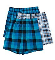 Hanes Millennial Tailored Back Seam Woven Boxer - 3 Pack UTHXX3