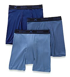 Hanes Ultimate X-Temp Boxer Briefs - 3 Pack UXBBA3