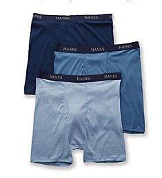 Hanes Platinum Core Extended Size Boxer Briefs - 3 Pack Y692L3
