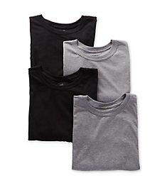Hanes Platinum ComfortFit Crew Neck T-Shirts - 4 Pack YFT1W4