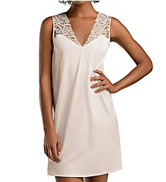 Hanro Daphne Lace Trim Tank Gown 76218
