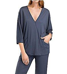 Hanro Mona 3/4 Sleeve Pajama Set 76283