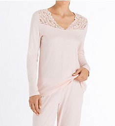 Hanro Moments Long Sleeve Pajama Set 77932