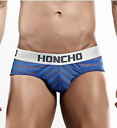 Honcho Mesh Striped Bikini Brief HOJ002