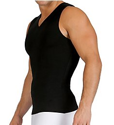 Insta Slim Sleeveless Compression V-Neck Tank VS00N1