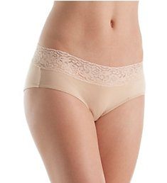 Jezebel Sparkle Modal with Stretch Lace Hipster Panty 70727