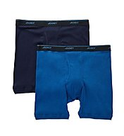 Jockey Big Man Stay Cool Plus Mid Boxer Brief - 2 Pack 8105B