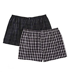 Jockey Big Man Full Cut Cotton Blend Boxers - 2 Pack 9940B