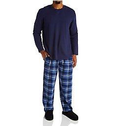 Jockey Flannel Pant With Waffle Top Sleep Set JY225